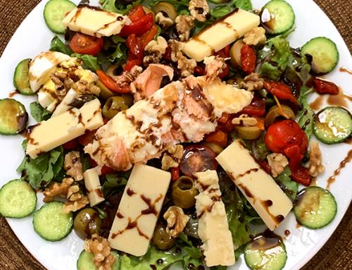 Judy's Summer Salmon Salad