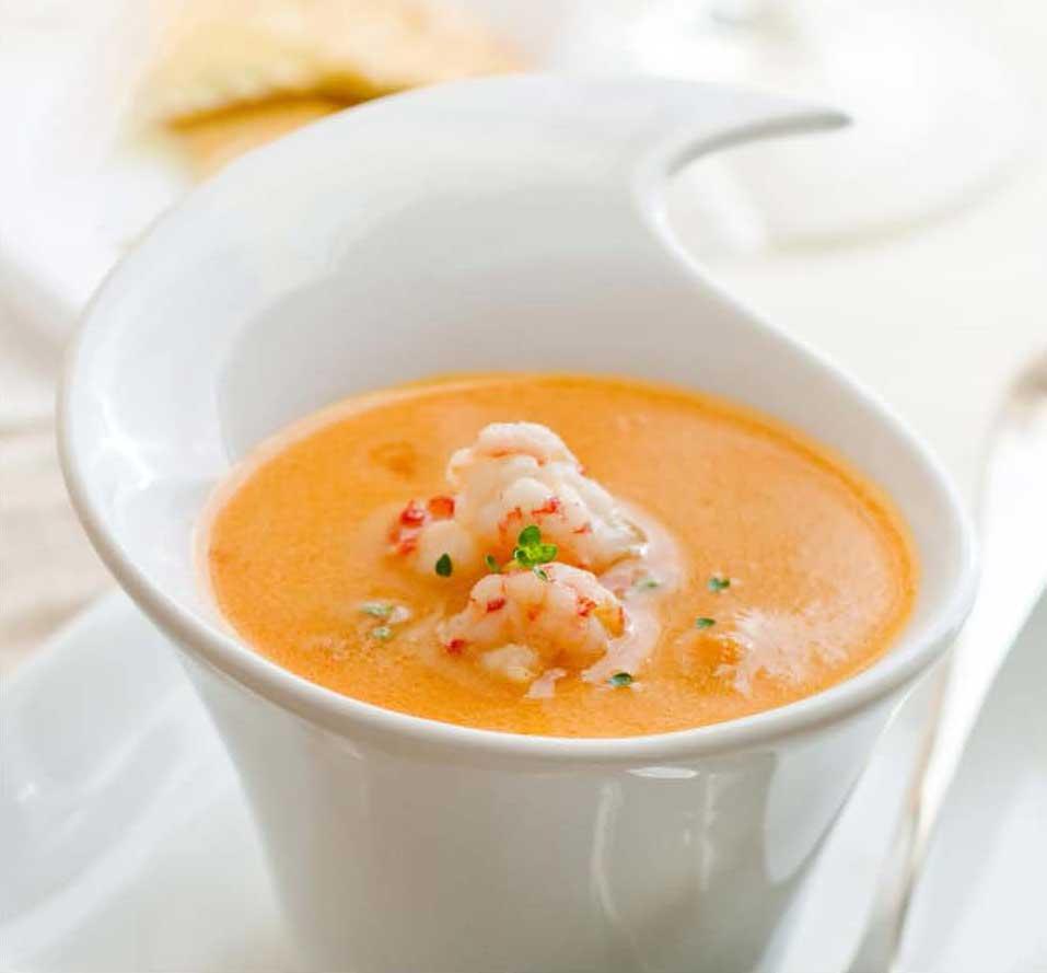 Healthy Recipe - Guilt Free Crab Bisque